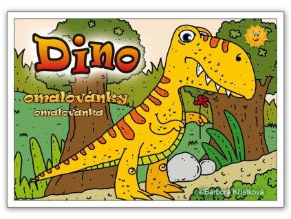 Omalovánky Dino
