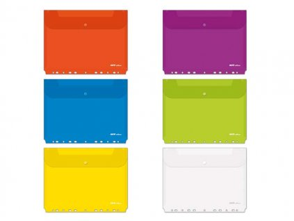 Složka M druk A4 závěsná mix barev