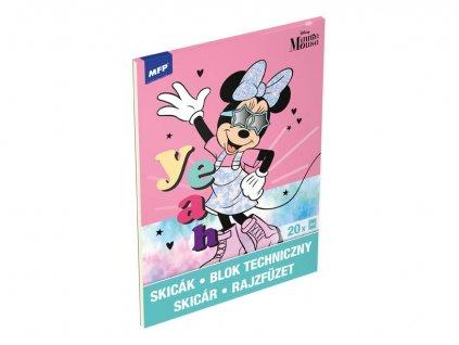 Skicák  A4/20 listů Disney