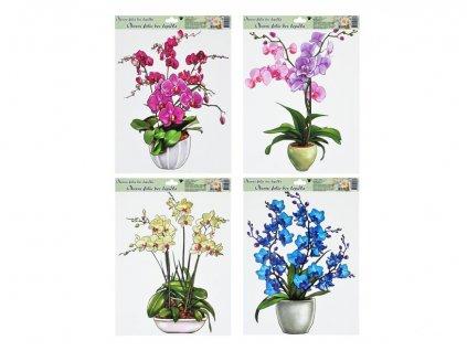 Okenní fólie 887 orchideje 42x30cm