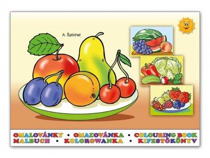 Omalovánky Ovoce a zelenina
