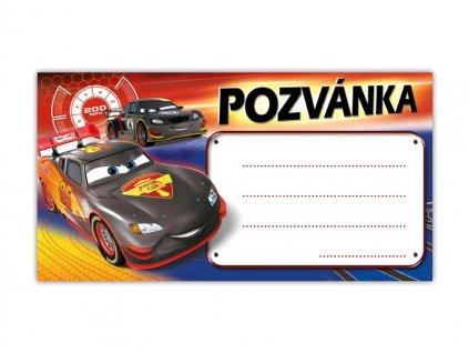 Pozvánka Y10 Disney Cars (10ks) (190x100mm)