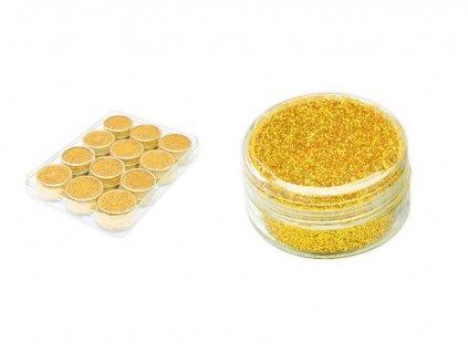 Glitrový pudr zlatý 24g AY-W470 gold