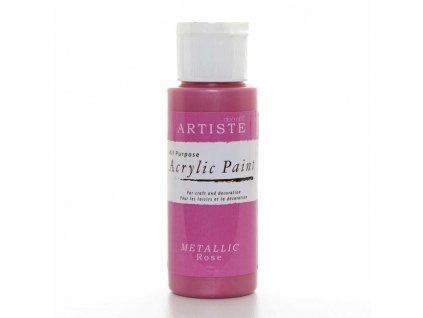 Barva acrylová DO Metallic Rose