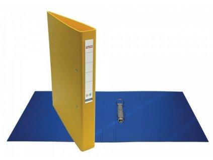 Pořadač 2kroužkový A4 President 4 cm žlutý