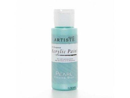 Barva acrylová DO Pearl Frosted mint