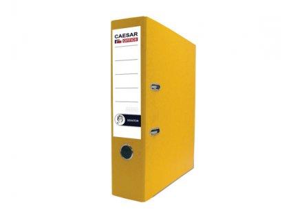 Pořadač pákový A4 Senator 8 cm žlutý