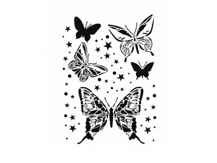 sablona cadence motyli