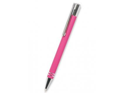 Pero TUBLA růžové v kovovém pouzdře
