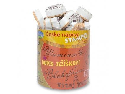 Razítka Aladine StampoScrap České nápisy