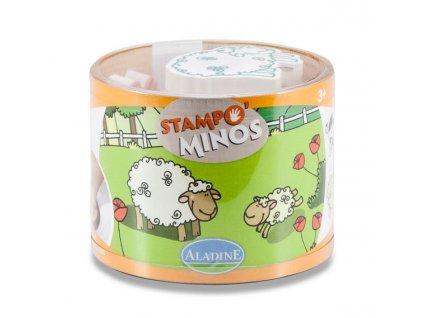 Razítka Aladine StampoMinos Domácí zvířata
