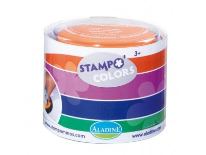 stampocolors barvene podusky 4 ks karneval