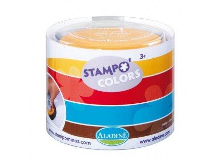 stampocolors barvene podusky 4 ks harlekyn