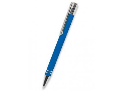 Pero TUBLA modré v kovovém pouzdře