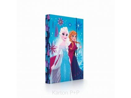 Desky A4 box na sešity Frozen