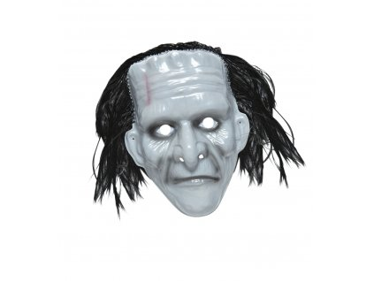 8003558269204 plastová maska frankenstein 2692M maska s vlasy