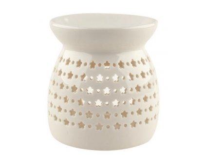 Aromalampa porcelánová bílá 9,9 cm
