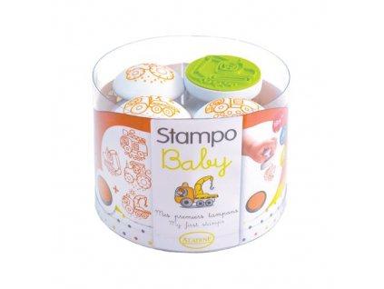 Razítka Aladine StampoBaby Stroje