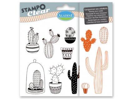 Razítka gelová Aladine kaktusy