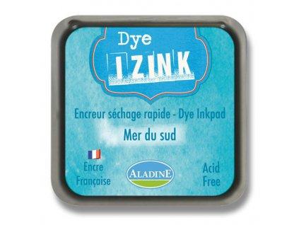 Razítkovací poduška IZINK modrá Mer du sud