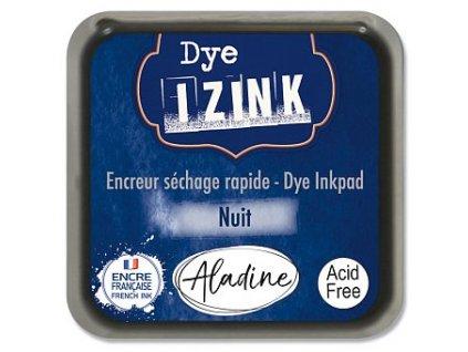 Razítkovací poduška IZINK tm. modrá Nuit