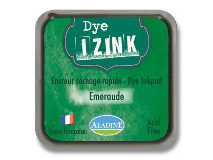 Razítkovací poduška IZINK tm. zelená