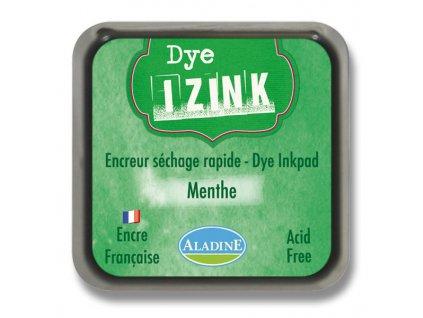 Razítkovací poduška IZINK zelená Menthe