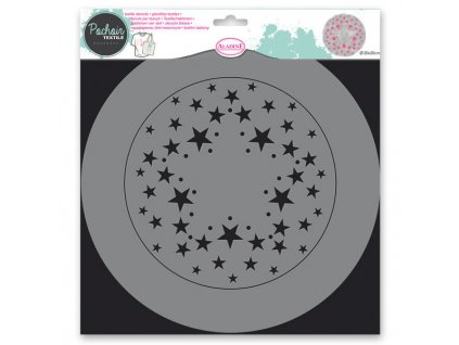 Šablona Aladine 28cm hvězdy