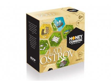Stolní hra HONEY COMBINE / ISLE OF GOLD