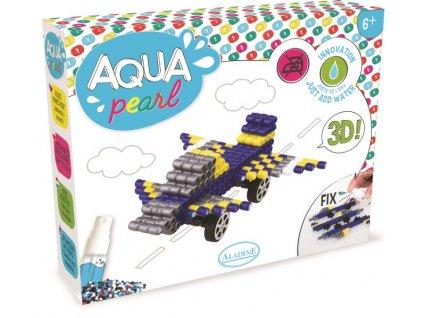 aqua koralky 3d sportovni auto avion