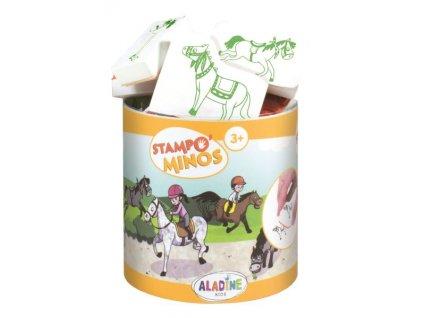 Razítka Aladine StampoMinos Koně