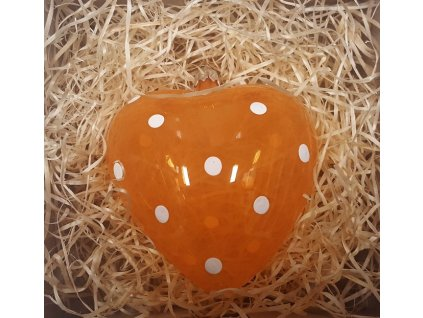 Velikonoční baňka IRISA - srdce velké 1 ks_x000D_