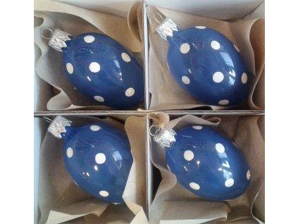 Velikonoční baňka IRISA - vejce malé 4 ks