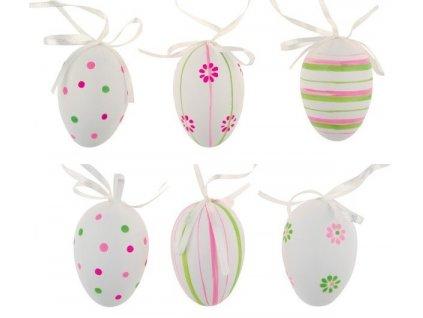 Velikonoční vajíčka růžovo-zelená