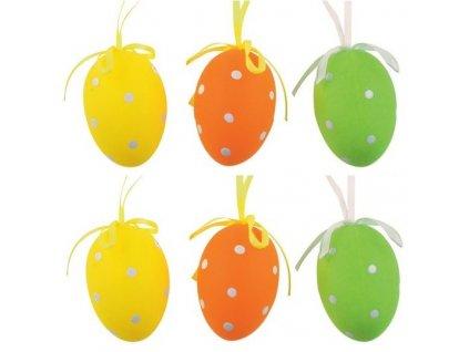 Velikonoční vajíčka velká puntík