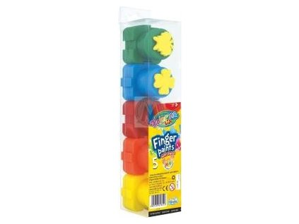 Barvy prstové Colorino 5 x 20 ml