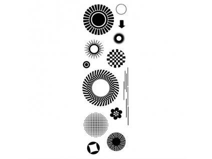 silikonova razitka kruhy