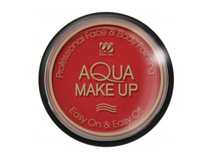 makeup cerveny