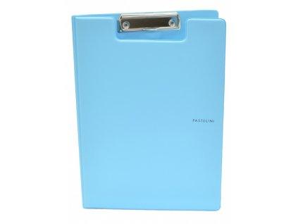 dvojdeska a4 plast pastelini modra 5 547 original