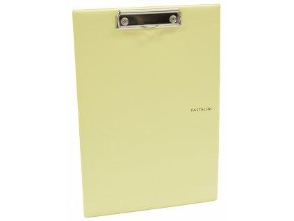 jednodeska a4 plast pastelini zluta 5 577 original
