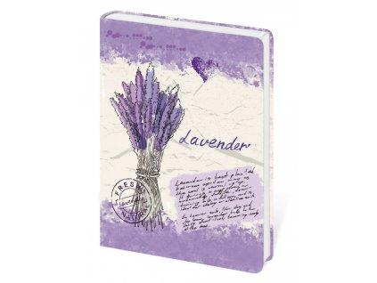 Zápisník Lyra Lavender linkovaný S
