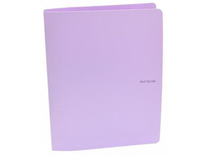 poradac a4 pp 2 krouzek pastelini fialovy 2 268 original