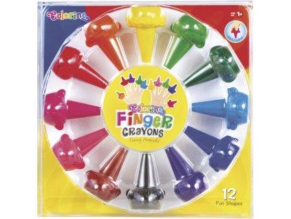 pastely colorino na prsty