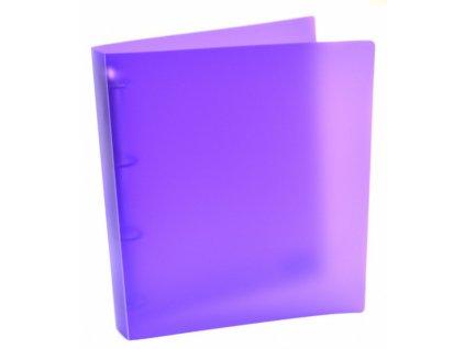 poradac a4 d20 4 krouzky opaline fialova