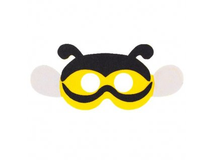 Maska včela fleece