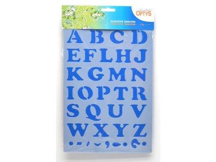 sablona abeceda velka