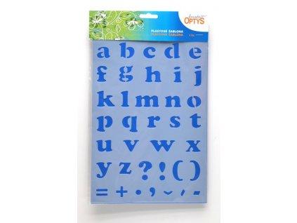 sablona abeceda mala