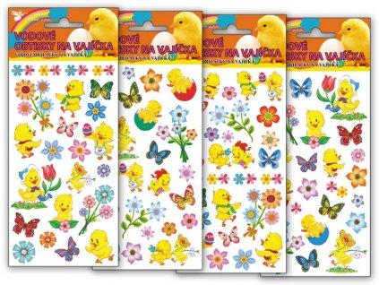 Velikonoční obtisk na vajíčka 768, vodové