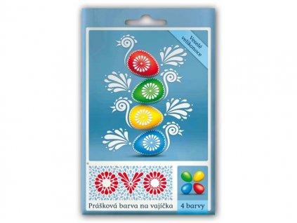 Velikonoční barvy na vajíčka OVO 5g 4 barvy
