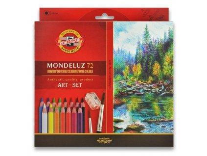 pastelky mondeluz 72 barev